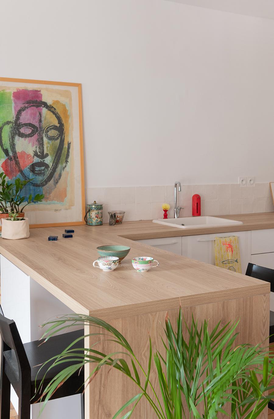 Rénovation cuisine dans appartement Haussmannien - LAYDOSTIAN