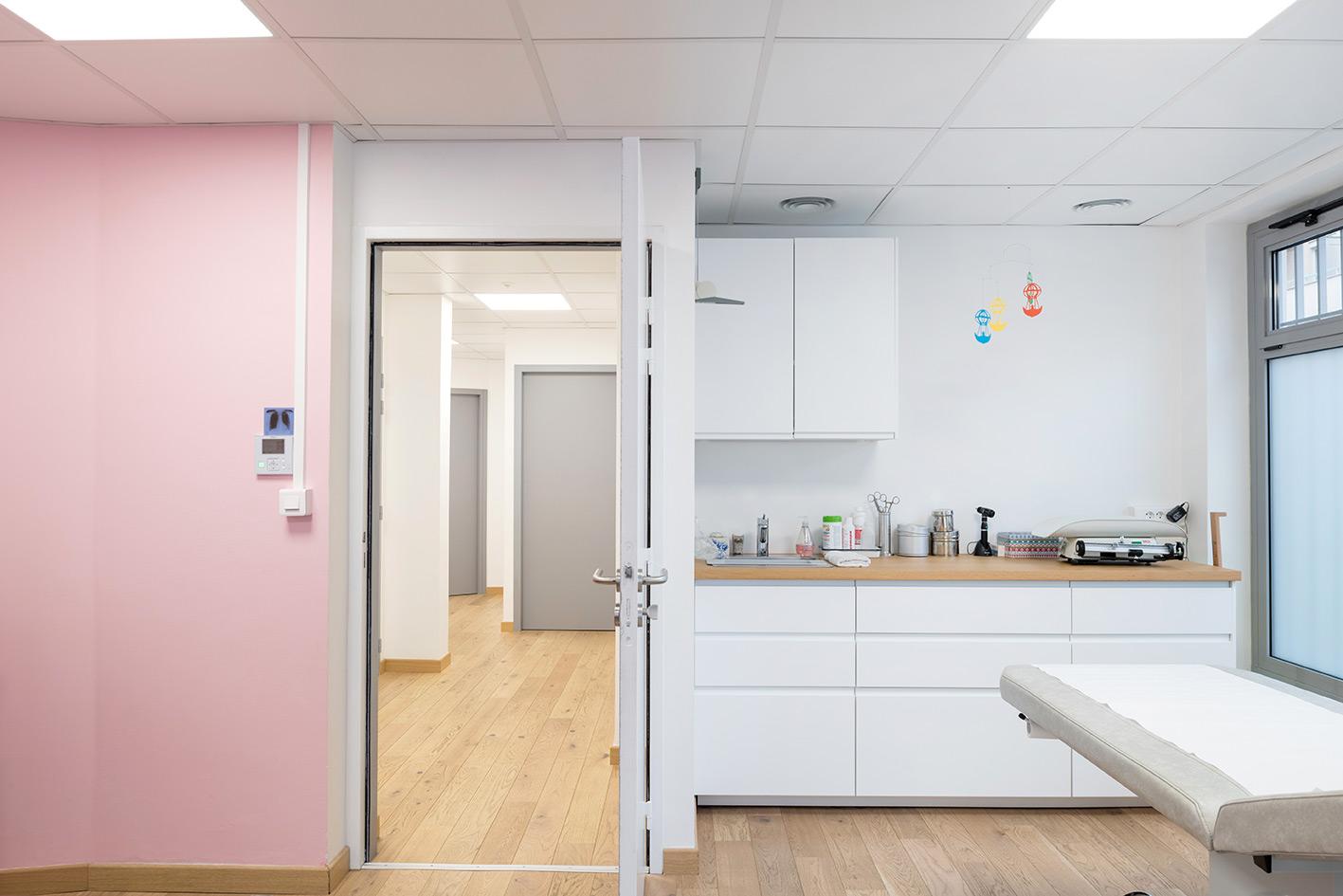 LAYDOSTIAN ARCHITECTE AGENCEMENT DECORATION Cabinet Medecins Lyon