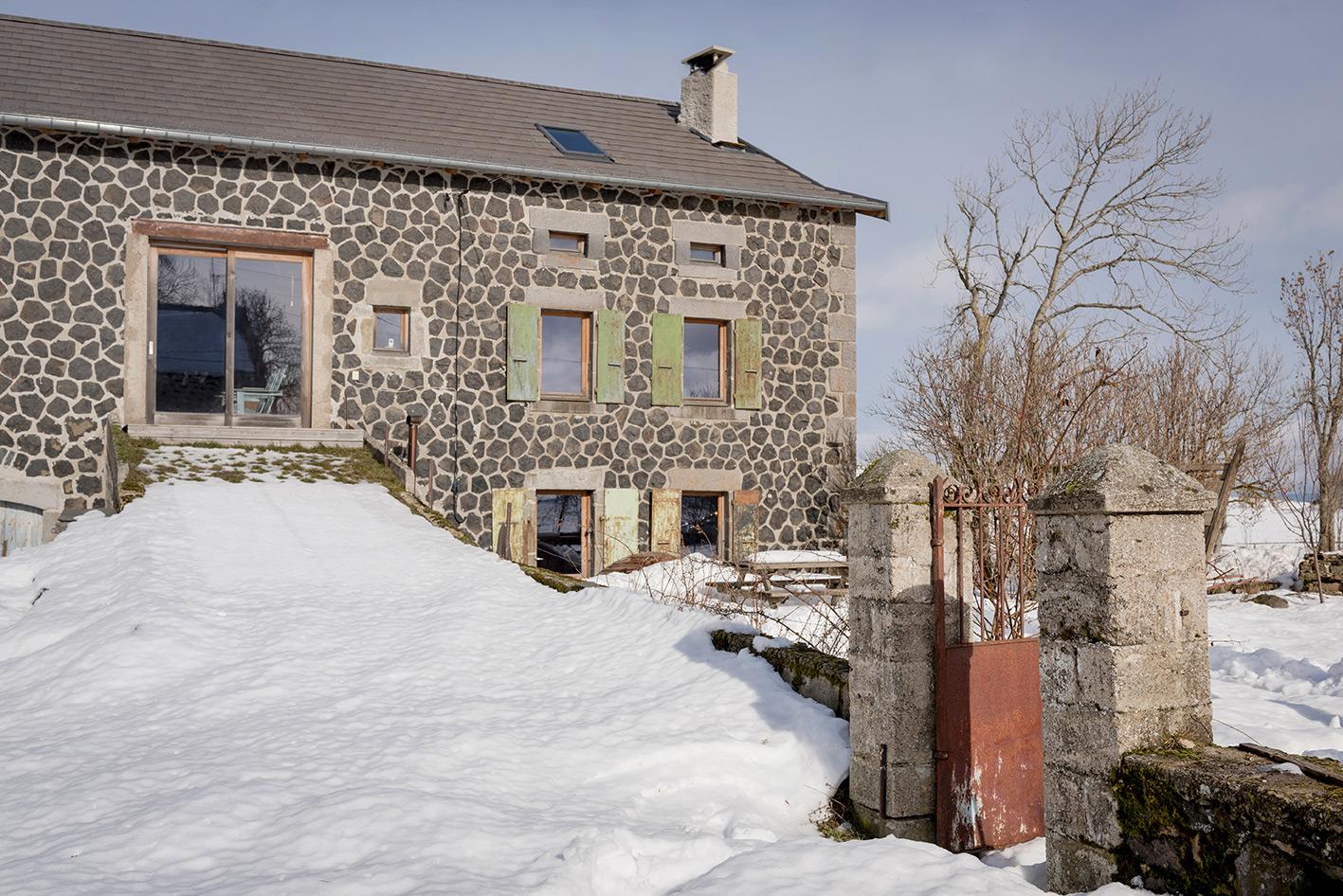 Architecte LAydostian – ferme traditionnelle Auvergnate